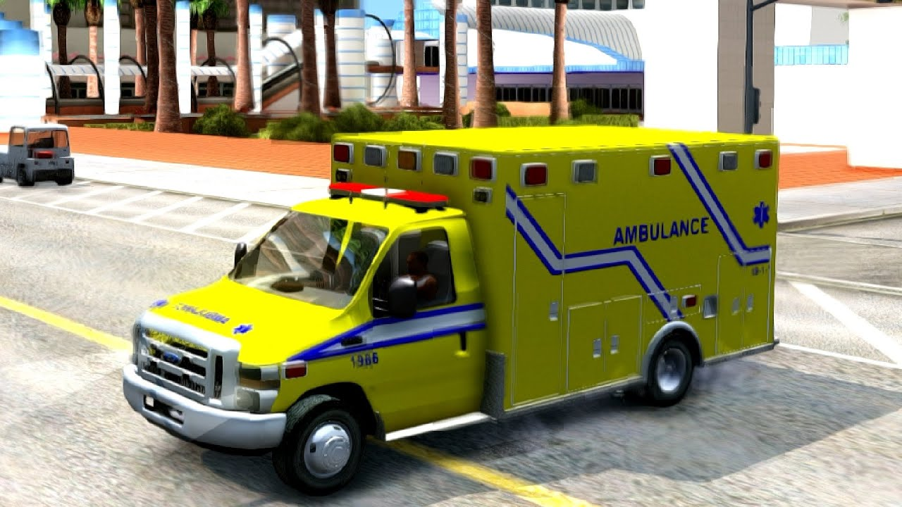 Ford F  Quebec Ambulance   New Cars Vehicles  To Gta San Andreas Enb Youtube