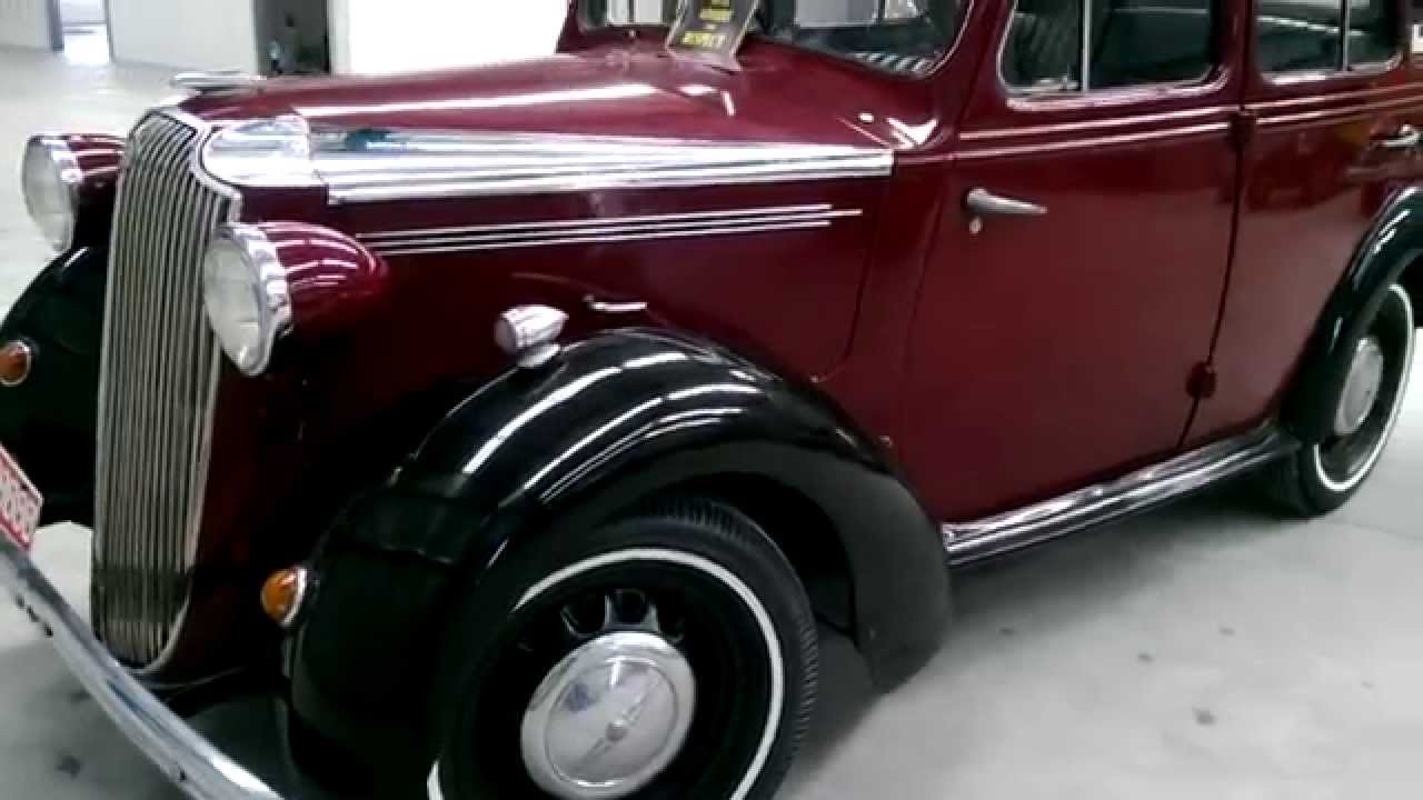Firma Trading Classic Cars Australia presents 1937 Vauxhall H 10/4 ...