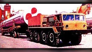 КОЛЕСНЫЕ МОНСТРЫ СССР часть 2 | Первые тягачи СКБ МАЗ | МАЗ 535 и МАЗ 537 |авто_ссср #88