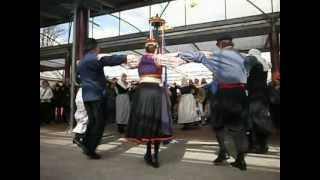 Mie Katoen uit Tilburg in de Keukenhof, Lisse, april 2012