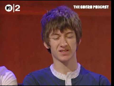 Arctic Monkeys Meet Zane - MTV2 Gonzo Podcast April2007 PART1