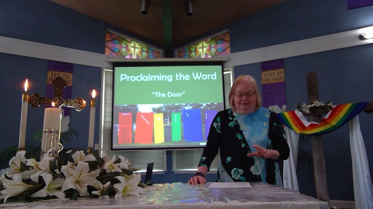 """May 3, 2020 ~ Rev. Julia Price ~ """"The Door"""""""