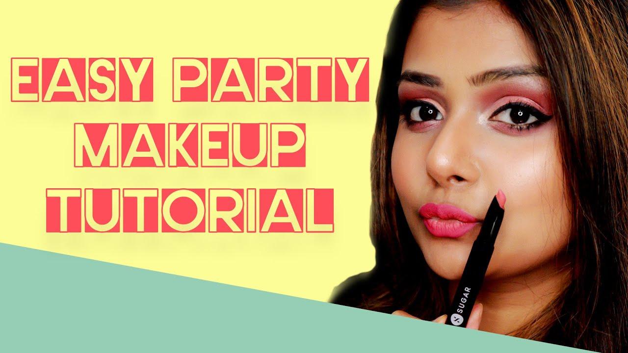 Easy Party Makeup Tutorial   SUGAR Cosmetics