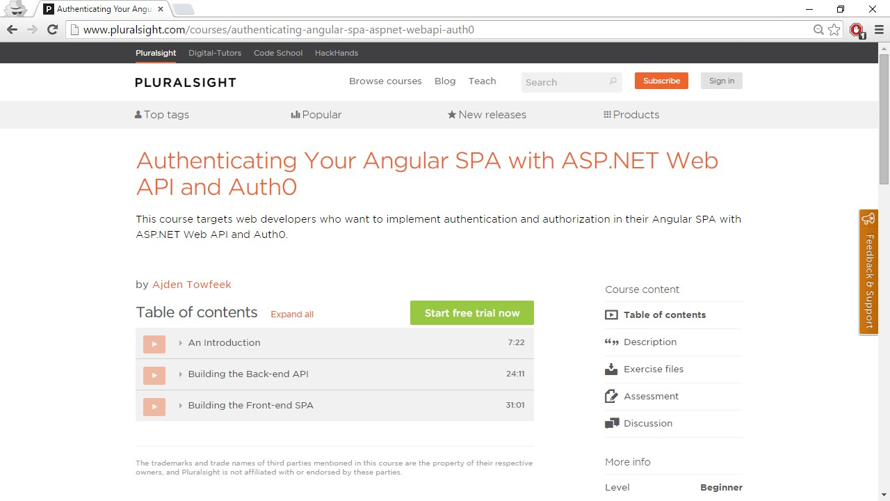 Authenticating Your Angular SPA with ASP NET Web API and Auth0