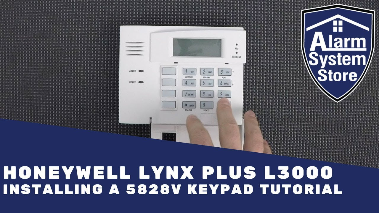 honeywell 5828v wireless keypad tutorial for lynx plus l3000 tips rh youtube com honeywell lynx manual honeywell lynxr installation manual