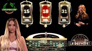 LIGHTNING ROULETTE! BIG TRIPLE SESSION vs £2,000 BANKROLL at Mr Green Online Casino!