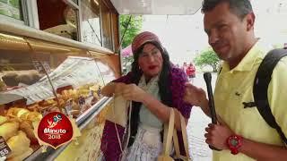 Roberto y Tenchis prueban comida rusa