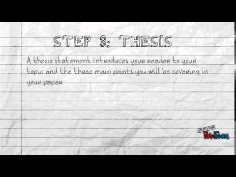 Writing An Introduction To A Research Paper - Youtube