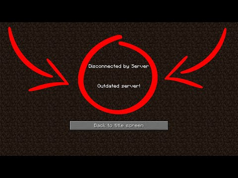 HOW TO FIX MINECRAFT OUTDATED SERVER ERROR! [WORKING 2020]
