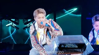 Gambar cover 190511 Trivia: Love RM Namjoon @ BTS 방탄소년단 Speak Yourself Tour Soldier Field Chicago Concert Fancam