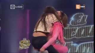 El Gran Show - Melissa Loza lloró por sorpresa de su hija Favia - Sábado 20-06-2015