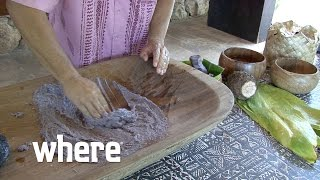 Hawaiian Culture Video: The Tradition of Poi Making