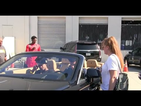 lonzo ball purchases a brand new drop top bentley rolls royce