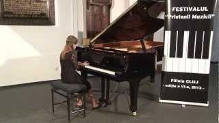 S. Heller - Studiul op.46 nr. 26 in do & Cotbarevski - Toccatino, Arpas Antonia
