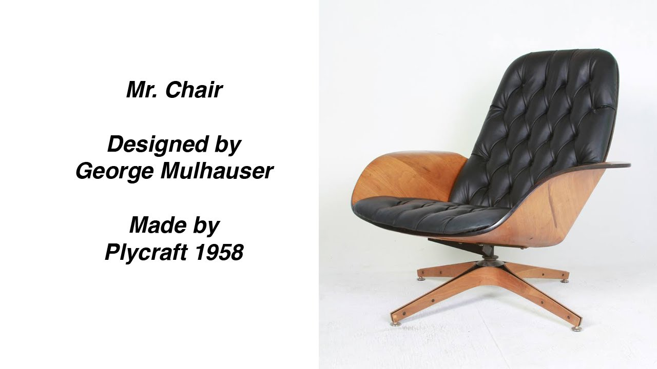 Mr. Chair By George Mulhauser Mid Century Modern