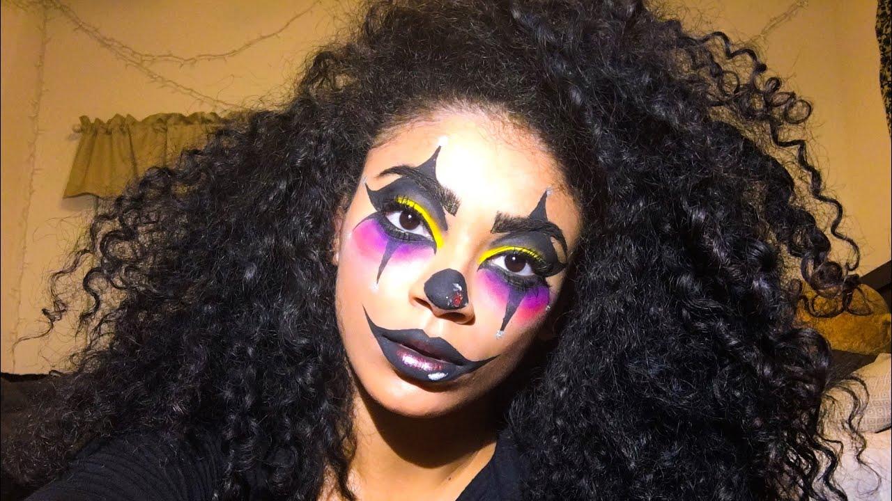 Clown Halloween Makeup Tutorial | jasmeannnn - YouTube