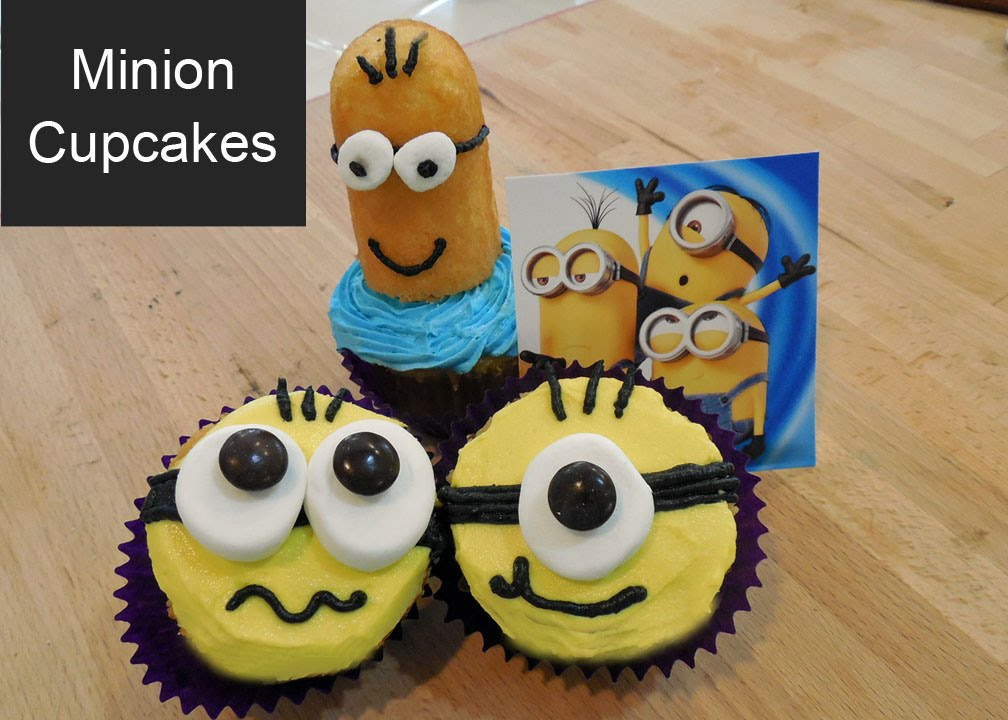 Easy to Make Minion Cupcakes Two Simple Ideas YouTube