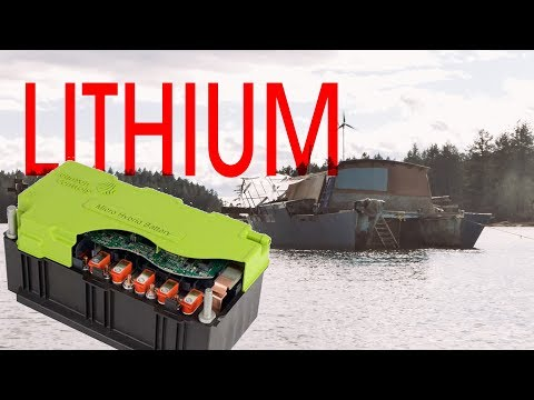 Running a Boat on Lithium Ion Power - Sink or Swim 44