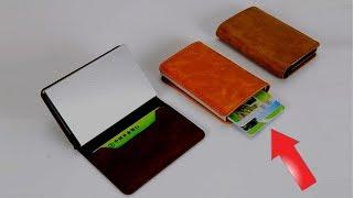 Современный кошелек для кредиток Card case | алиэкспресс обзор