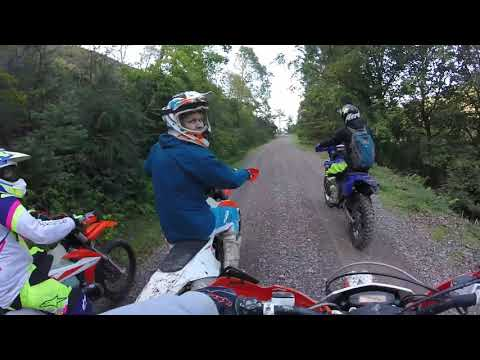 Trails for days hard enduro