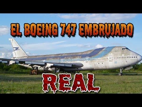 LA TERRORÍFICA HISTORIA DEL BOEING 747 EMBRUJADO (REAL)