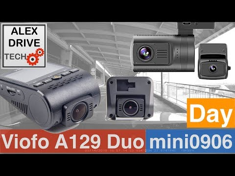 VIOFO A129 Duo Vs Mini0906 FRONT DAY