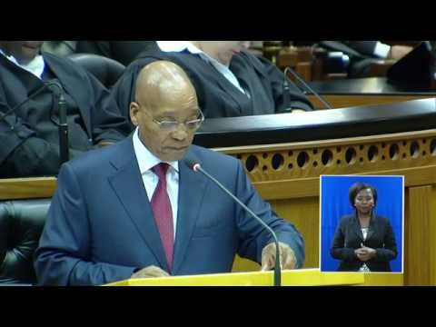 State of the Nation Address: Joint Sitting, 12 February 2015