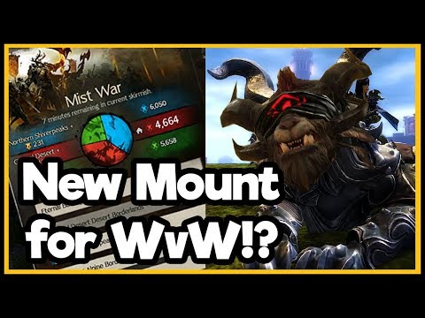 Guild Wars 2 - News - Warclaw WvW Mount!? thumbnail