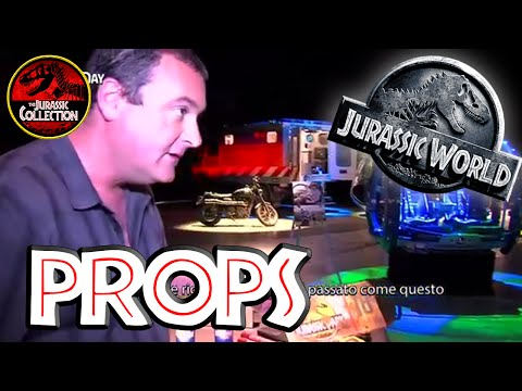 PROPS | Jurassic World Special Behind the Scenes ITALIAN | 201