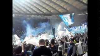 Coreografia Lazio (Roma Lazio 1-2)