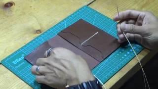 護照夾【好好縫】皮革材料包教學系列 #leatherism