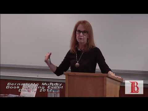 LBCC - Author and Writer Bernadette Murphy