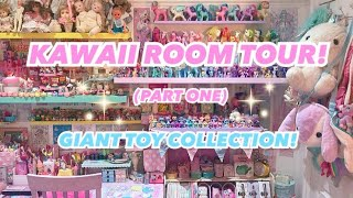 KAWAII ROOM TOUR  AND TOY COLLECTION - PART 1