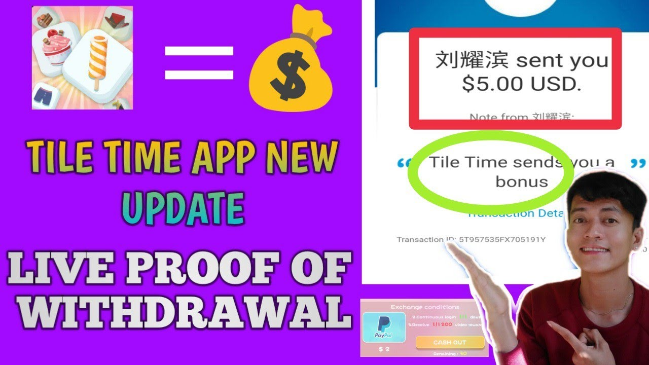 tile time app new update live proof of withdrawal nagbabayad nga ba