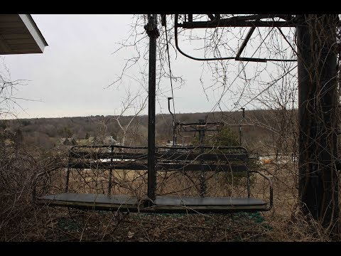 Abandoned Pines Peak Family Ski Area - Valparaiso Indiana - FPV And Drone View
