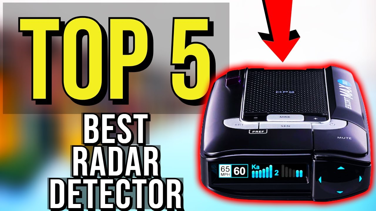 ✓ TOP 5: Best Radar Detector 2020 - YouTube