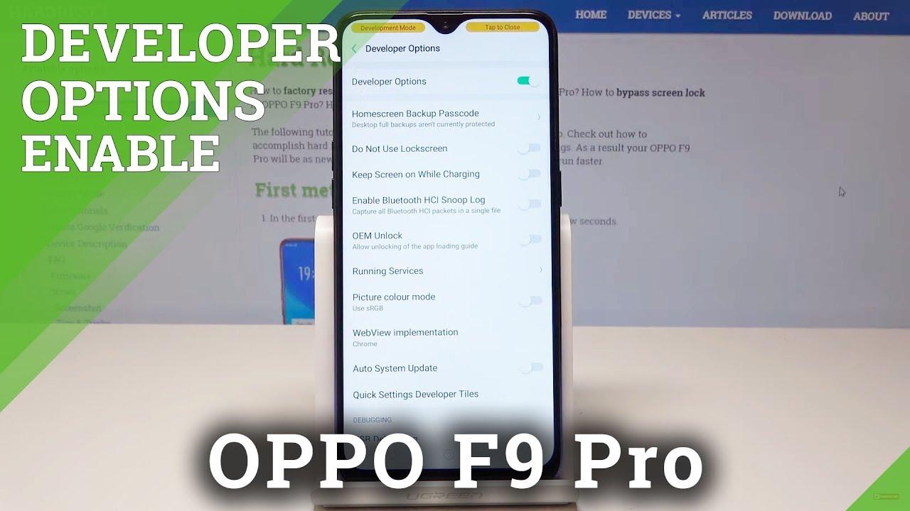 Oppo F9 Bootloader Unlock