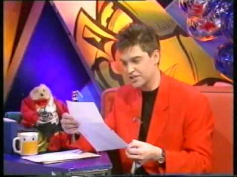 Phillip Schofield and Gordon the Gopher | Last Ever Going Live! | 17/04/1993
