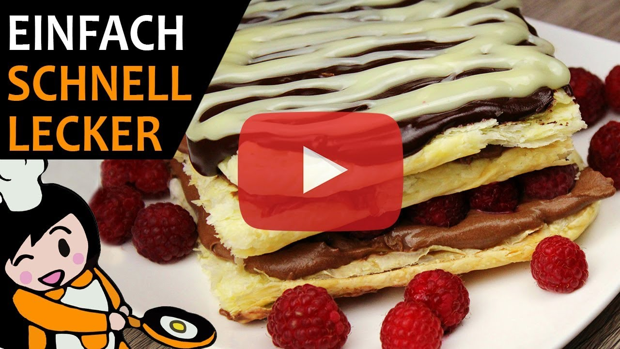 Himbeer Schoko Kuchen Rezept Videos Youtube