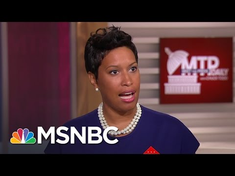 DC Mayor Talks Potential Statehood | MTP Daily | MSNBC