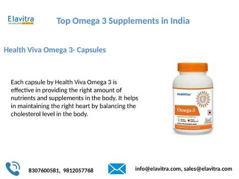 Top 10 Omega 3 Supplements In India   Best Fish Oil