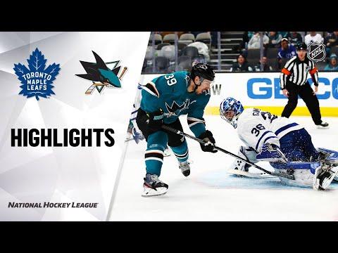 NHL Highlights | Maple Leafs @ Sharks 3/3/20