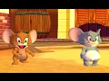 Tom and Jerry Video Game for Kids - Jerry and Nibbles vs Duckling and Tyke - Cartoon Games HD