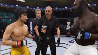 EA Sports UFC 3 Bruce Lee vs Kimbo Slice