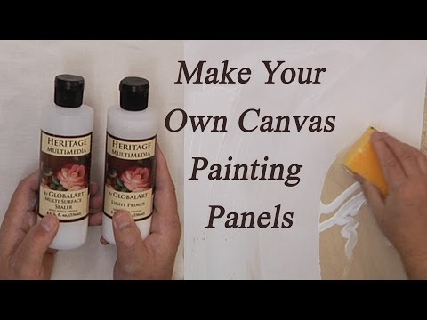 Making Canvas Panels
