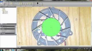 Designspark modeling Fan(How to make 3D model by photo in Designspark Mechanical., 2015-04-10T11:37:16.000Z)