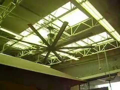 2 big ass ceiling fans youtube 2 big ass ceiling fans aloadofball Image collections