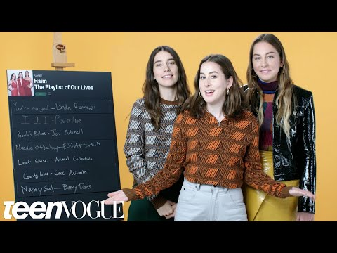 HAIM Create the Playlist to Their s  Teen Vogue
