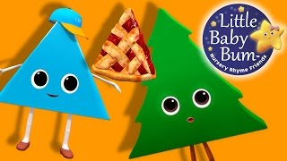 Little Baby Bum | Shapes Songs The Triangle Song | Nursery Rhymes for Babies | Songs for Kids