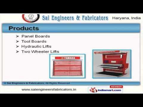 Auto Service Equipment by Sai Engineers & Fabricators, Faridabad